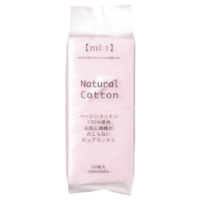 Cotton Labo Natural Cotton Puff - 50pcs