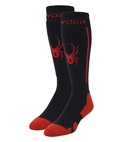 Spyder Herren Sweep Socken, Black, L