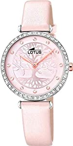 Lotus Reloj Analógico para Mujer de Cuarzo con Correa en Cuero 18707/2