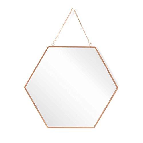 Black Velvet Studio Espejo Pared Decorativo Hexagonal