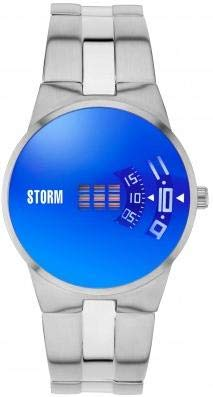 Storm London NEW REMI SQ LAZER BLUE 47430/LB Orologio da polso uomo