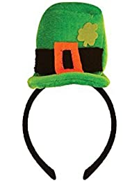Green Mini Top Hat Headband St Patricks Day Irish Fancy Dress Accessory