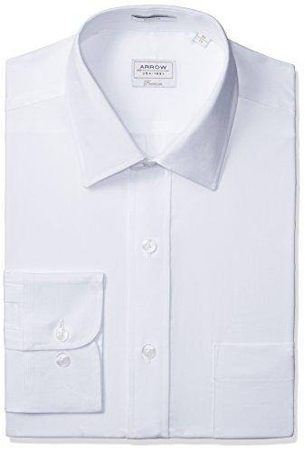 Arrow Men's Formal Shirt (8907538526441_ASTF0351_42FS_WHITE)