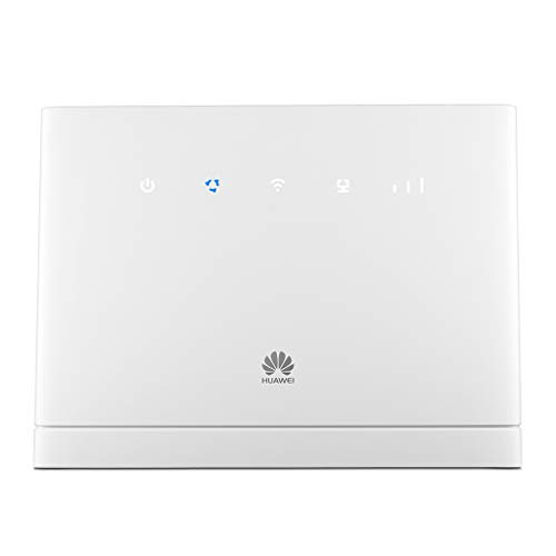 Huawei B315s-22 Weiss 4G LTE-TDD-WLAN-Router 150Mbit (LTE, HSPA, 32 User) WWAN, 4-Port-Switch, 802.11b/g/n (4g Unlocked Huawei Handys,)