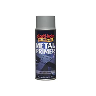 Plasti-kote 10601 400ml Metal Primer - Grey