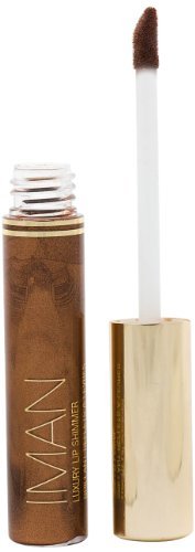 Iman Cosmetics Gloss Lip Shimmer Brownie