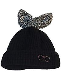 YeahiBaby Sombrero de Invierno Gorro de Punto cálido Niño Beanie Sombreros  de Ganchillo para niños ( a1ccdf185fa
