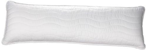 Badenia Bettcomfort Seitenschläferkissen, 40 x 120 cm, weiß