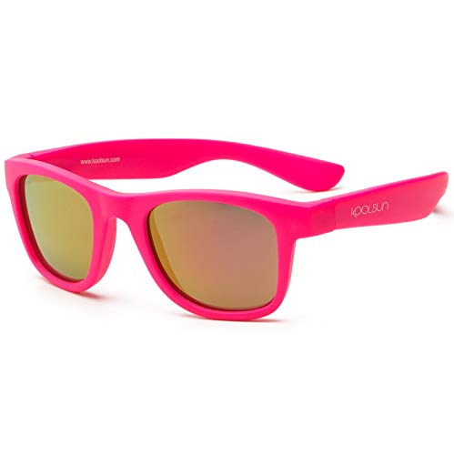 Koolsun - Wave - Kinder Sonnenbrille - neon pink - 3+ (3-10 Jahre)