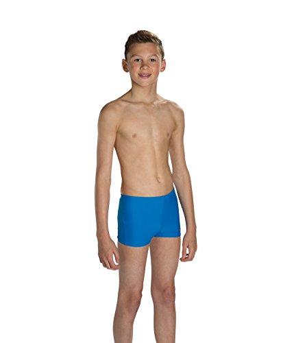 Speedo SUB garçon à imprimé logo, Enfant, Sub Atomizer Logo Panel Bleu/Rouge