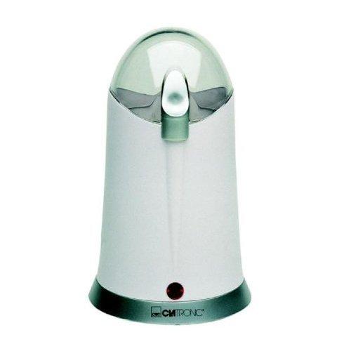 Clatronic KSW 2669 Kaffemühle mit Edelstahlmesser weiß 150 W weiß
