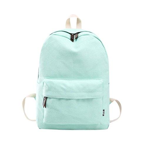 Imagen de  escolares juveniles niña switchali lona bolsas escolares moda pijo  escolares niño  mujer casual  bolsas deporte viaje  baratas menta verde