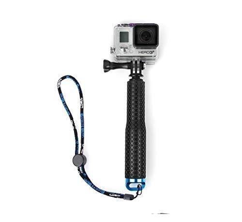 TianLin 19in Agarre de Mano Resistente al Agua Compact Selfie Stick Extensible telescópico de Mano Monopod Pole para GoPro, Hero Session