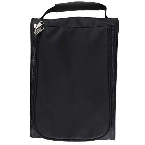 Outdoor Golf Schuhe Taschen Tragbare Reise-Schuhe Taschen Mit Reißverschluss Sportschuhe Beutel Für Männer Frauen Schwarz 1PC