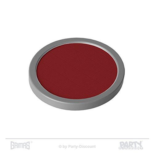 Grimas Cake-Make-up 35 g, Farbe 1075 - Ziegelrot, Basis-Make-Up, Grundierung, ()