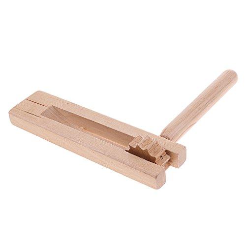 raditionell Rassel Clacker Hölzerne Hand Clapper Spielzeug für Kinder ()
