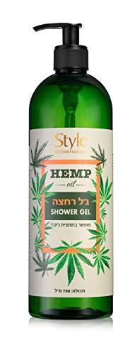 Style Aromatherapie Hanföl Duschgel, angereichert mit Ingwer, Aloe Vera und Kamille.