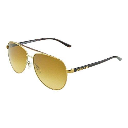 Michael kors mk5007 hvar, occhiali da sole unisex-adulto, oro (gold), taglia unica