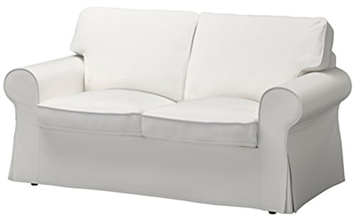 Custom slipcover replacement sostituzione di copertura bed ektorp divano a due posti è su misura per ikea ektorp 2 posti sleeper dense bianco