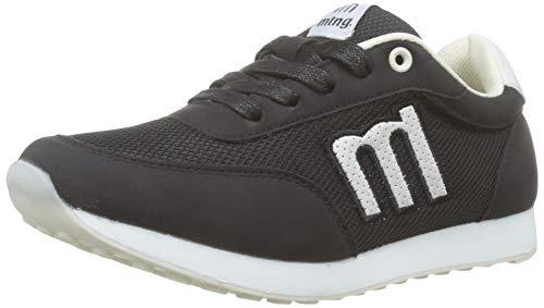 MTNG 69194, Zapatillas Mujer, Negro/Yoda Blanco Roto
