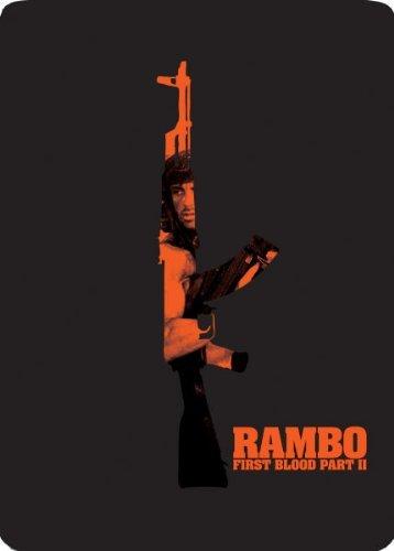Bild von Rambo II Der Auftrag - Rambo First Blood Part II Steelbook Blu-Ray, Zavvi Exclusive Steelbook Edition, Uncut, Region A + B, UK-Import mit deutschem Ton