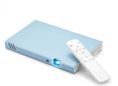 YSCCSY Projektor 1000 Lumen DLP 1080P Mobile Cinema Dual Core CPU 2.4G + 5G WiFi 2000: 1 Bluetooth Android 22 DB Dual-core Mobile