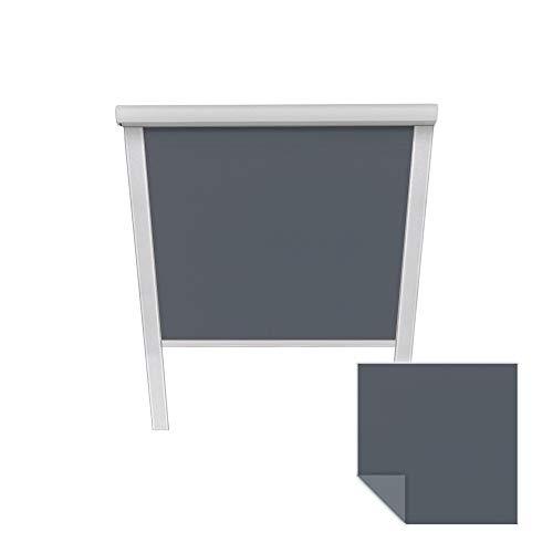 Victoria M. Verdunkelungsrollo passend für Velux-Dachfenster MK08 6008 dunkelblau