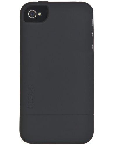 Skech Hard Rubber Etui Protecteur pour iPhone 4/4S -Noir Noir