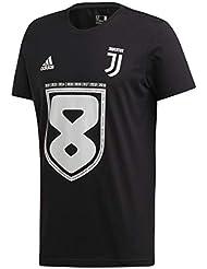 Juventus Maglia Scudetto 2019 - Originale - Bambino - Maglia Celebrativa Nera 2018/2019 - Campioni d'Italia