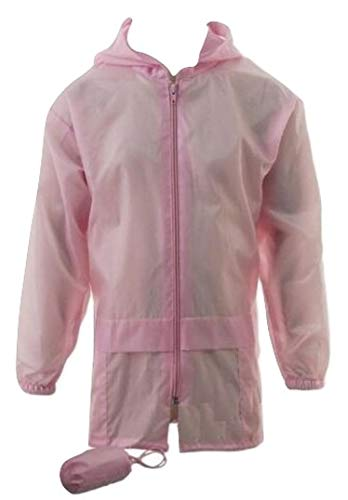 SST-UK Kids Boys Girls Kagool Showerproof Rain Coat Jacket Mac Cagoule Kagoul Ages 4-16