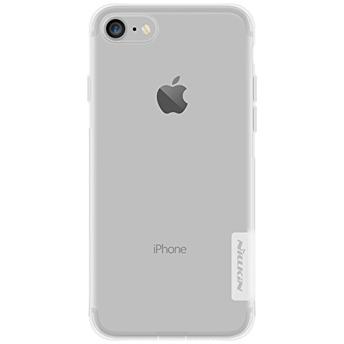 Apple iPhone 7 Coque, [Accessories Expert] Nillkin TPU mince souple transparent - Apple iPhone 7 ultra-mince Housse etui - emballage de vente au détail,Or Blanc