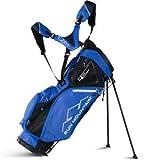 Sun Mountain Sacca da Golf con 14 Scomparti, 2 kg, Borsa per Mazze, SUNMTN-G801081, Black/Cobalt, L