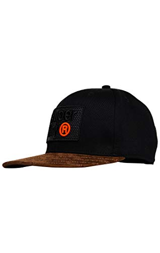 Superdry Herren B Boy AOP Baseball Cap, Schwarz (Black 02A), Einheitsgröße