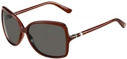 Preisvergleich Produktbild Yves Saint Laurent YSL 6254 S DK OLIVE/PL-BROWN SHD Sunglasses (YSL-6254-S-MYS-W0-58-13-125)