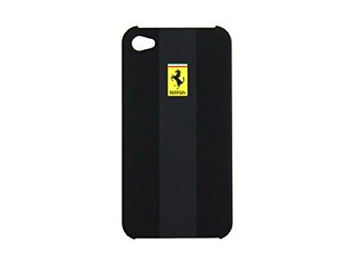 Ferrari FERU4GSCB Hard Case für Apple iPhone 4/4S schwarz
