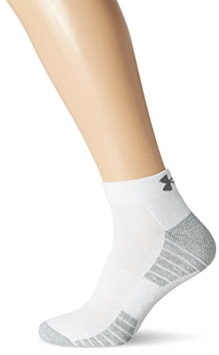 Under Armour Herren Heatgear Tech Locut 3PK Socken, White, MD (Training Heatgear)