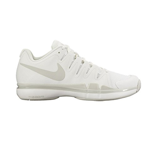 NikeCourt Zoom Vapor 9.5 Tour - Scarpe da Tennis Donna Bianco (Blanco (Summit White / Lght Bone-Lght Bn))
