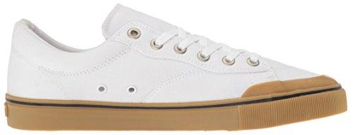 Herren Skateschuh Emerica Indicator Low Skateschuhe White Gum