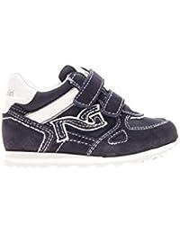 7d3e185ad88a7d Nero Giardini Junior Sneaker Strappo camoscio Tessuto Bambino