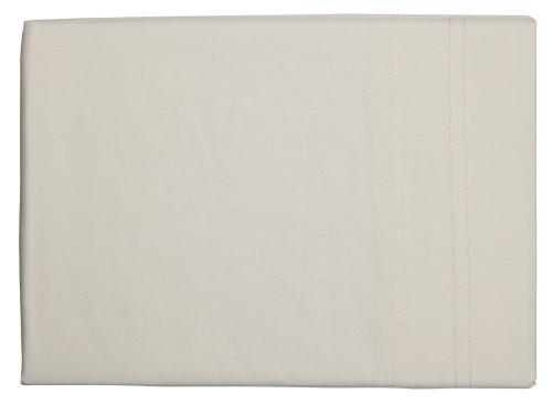 Sheridan Essentials cache sommier 600 fils/cm² Coton mélangé égyptien satiné Vanille 137 x 190 x 43 cm