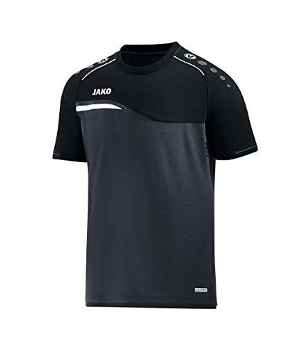 Preisvergleich Produktbild JAKO T-Shirt Competition 2.0,  Größe:M,  Farbe:anthrazit / schwarz