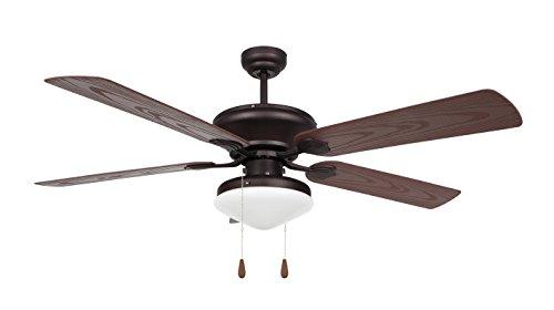 Orbegozo CP 73132 – Ventilador de techo con luz para exterior, 5...