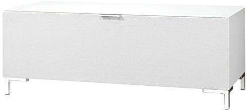 CS Schmalmöbel 45.012.221/008 TV-Board Cleo Typ 10, 109 x 50 x 44 cm, wildeiche mit Stoffklappe