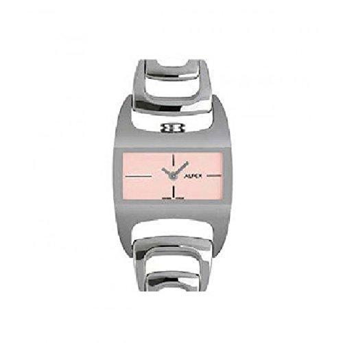 Alfex Reloj plata/rosa