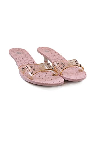 Fornarina Synthetic Sandals with Slip ProofHeel (3,5 cm) mod. PEFMT4704WQ Rosewater