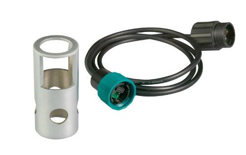 Extech ExStik Sensor-Verlängerungskabel mit schwerer Basisform für Sauerstoffmessgerät, 1 Stück, 1 m, EX010