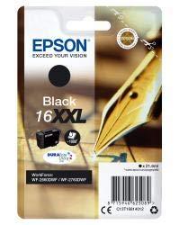 Epson Original T1681 Füller, wisch- und wasserfeste Tinte XXL (Singlepack) schwarz