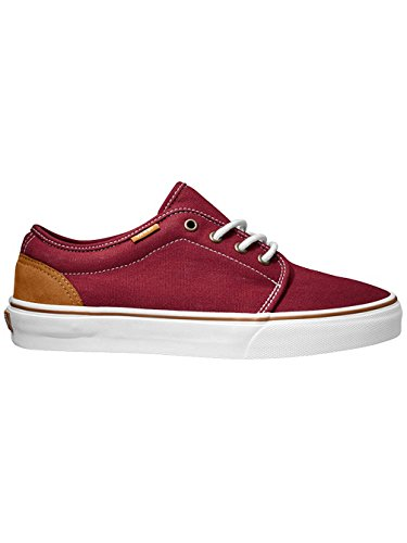 Vans U 106 VULCANIZED Unisex-Erwachsene Sneakers (10 oz canvas) brick red