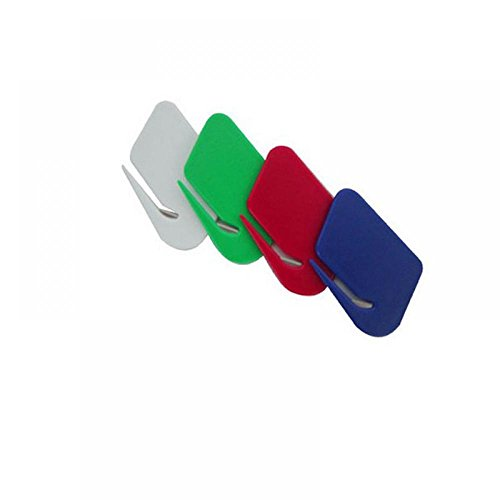TXIN 4 Stück E-Mail Briefumschlag Rostfreier Stahl Brief Öffner Haushalt Schneiden Messer
