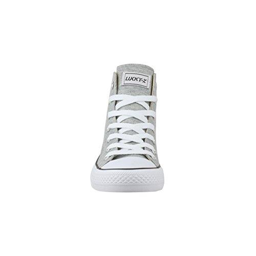 Elara Sneaker Donna hellgrau London